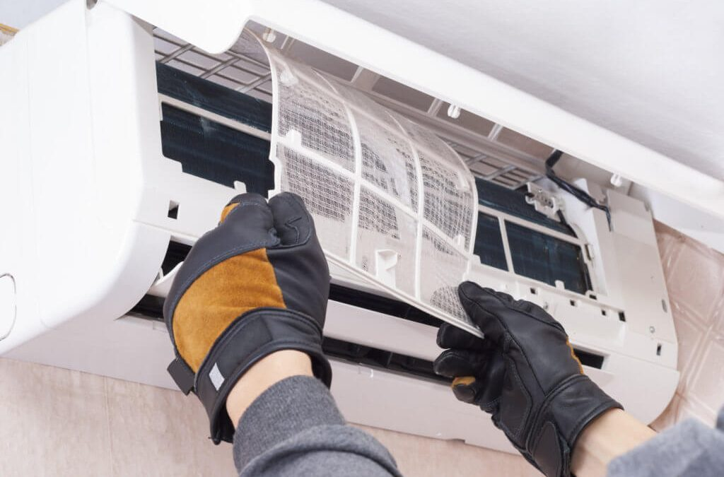 Cleaning Air Conditioner Filter is on of the maintenance tasks carried out by Climate Cooling Solutions